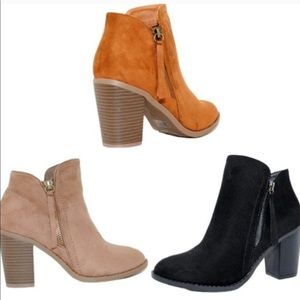 Buffy-20 Fashion Suede Booties